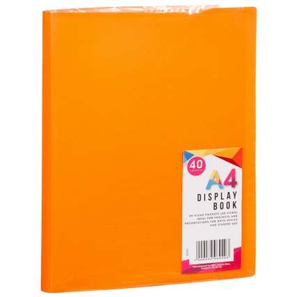 320692-A4-40-Packet-Display-Book-orange