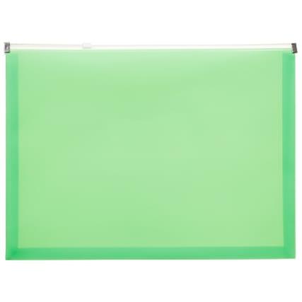 320693-4pk-A4-Zip-Wallets-green