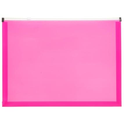 320693-4pk-A4-Zip-Wallets-pink