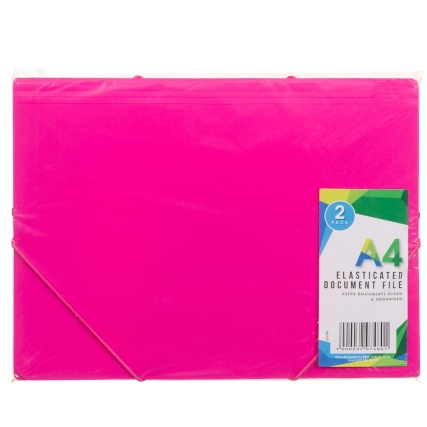 320748-Elasticated-Document-File-2Pk-Pink