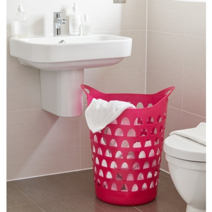 320826-tall-flexi-laundry-basket-pink