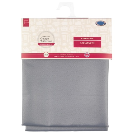 320886-George-Wilkinson-Essentials-Tablecloth-Grey