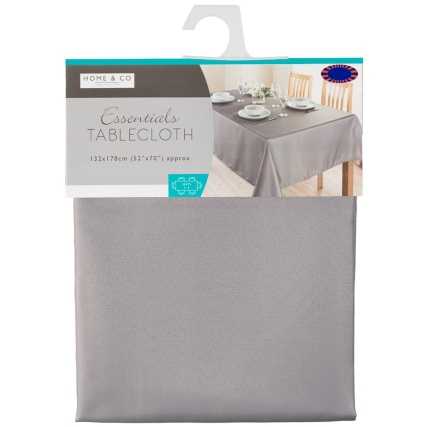 320886-home-and-co-essentials-tablecloth-132x178cm-grey