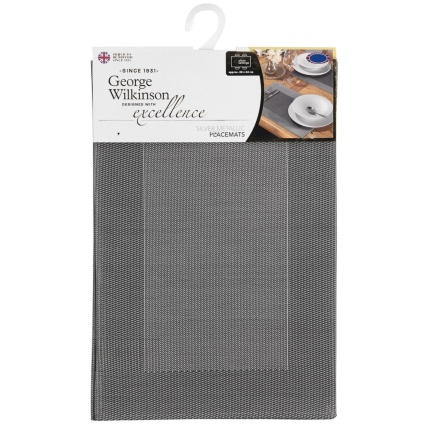 320887-George-WIlkinson-Silver-Border-Metalic-Placemats