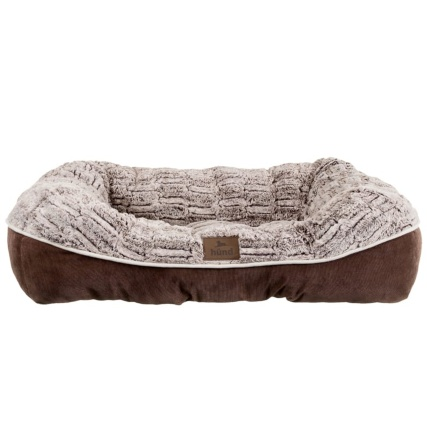 321045-Hund-Square-Nuzzle-Bed-chocolate