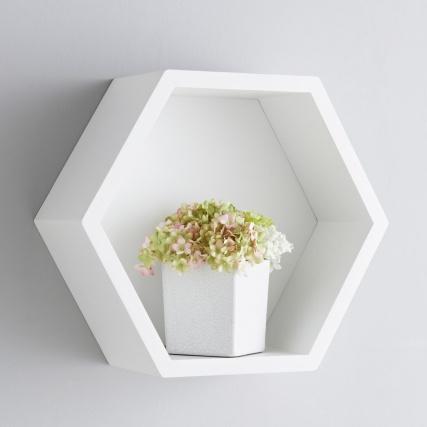 bjorn hexagon shelf furniture shelving   b amp m stores