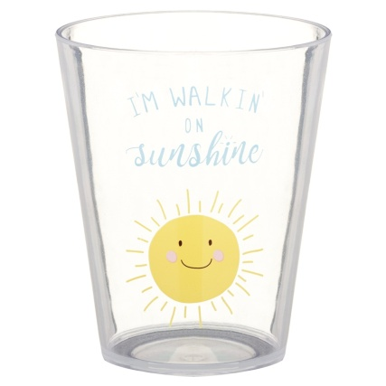 321244-printed-tumblers-4pk-summer-slogans-im-walkin-on-sunshine