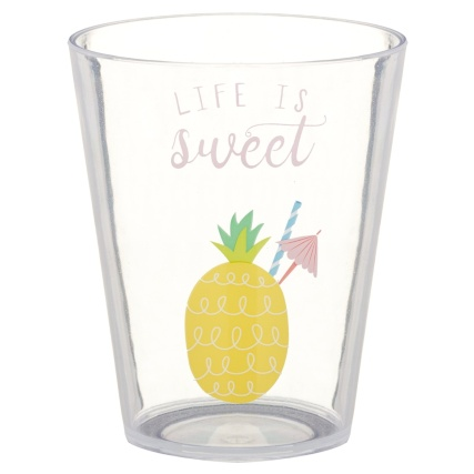 321244-printed-tumblers-4pk-summer-slogans-life-is-sweet