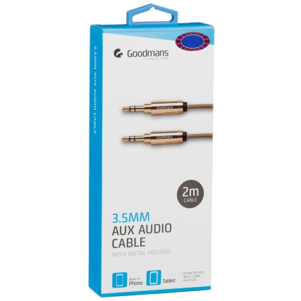 321315-Goodmans-Aux-cable-2m-gold