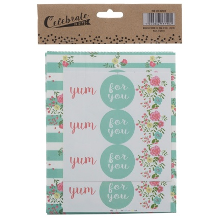 321379-20-Paper-Treat-Bags-with-21-Stickers-flowers-2