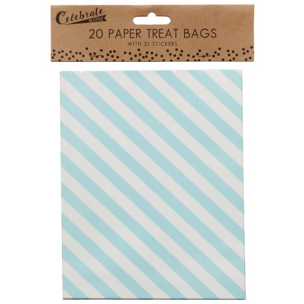321379-20-Paper-Treat-Bags-with-21-Stickers-yum-for-you-stripes-2