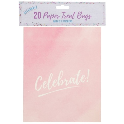 321379-treat-bags-with-21-stickers-20pk-celebrate-3