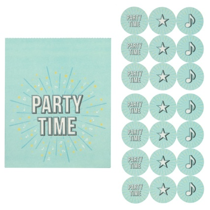 321379-treat-bags-with-21-stickers-20pk-party-time-3