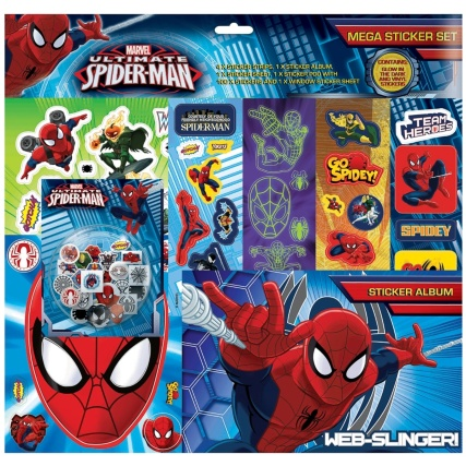 321406-Ultimate-Spiderman-Sticker-Album