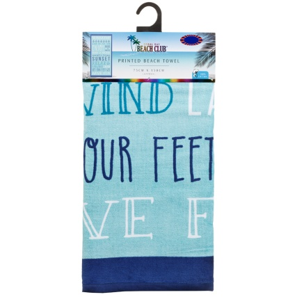 321668-coral-bay-beach-club-printed-beach-towel-aqua-slogan