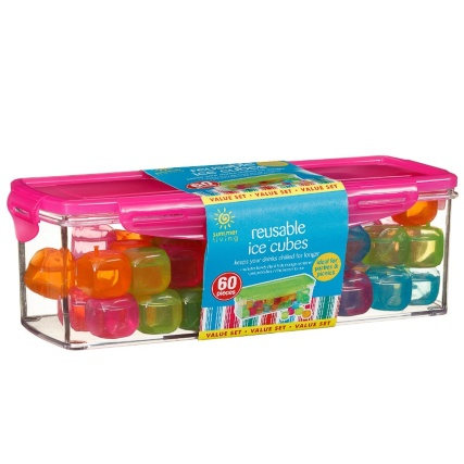 321683-60-reusable-ice-cubes-multicolour-pink