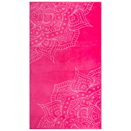 321939-oversized-jaquard-beach-towel-hot-pink-mandala-2