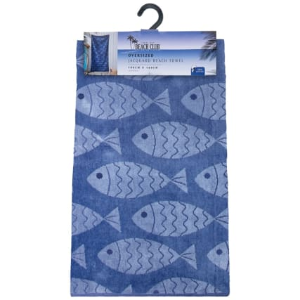321939-oversized-jaquard-beach-towel-navy-fish