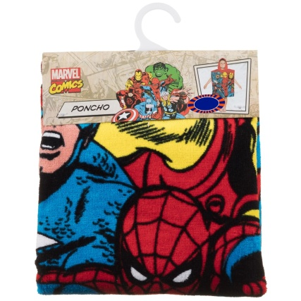 322201-Heros-Beach-Poncho-Spider-Man