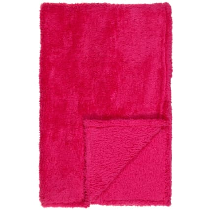 322457-Silentnight-Kids-Collection-Super-Soft-Throw-Raspberry1