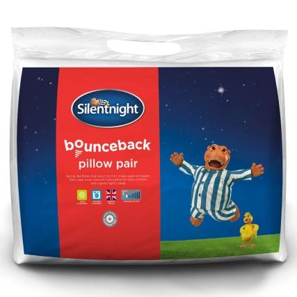 Silentnight Bounceback Pillow Pair Bedding B Amp M