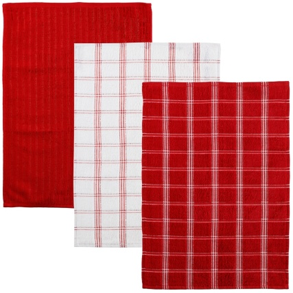 323017-3-pack-Oversized-Check-Terry-Tea-Towels-red