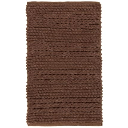 323052-super-soft-knitted-texture-chenille-bath-mat-brown