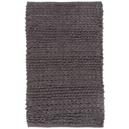 323052-super-soft-knitted-texture-chenille-bath-mat-charcoal