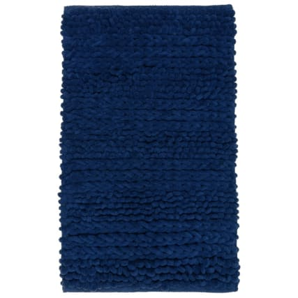323052-super-soft-knitted-texture-chenille-bath-mat-navy