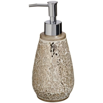 323227-COloured-Mosaic-Soap-Dispenser-champagne