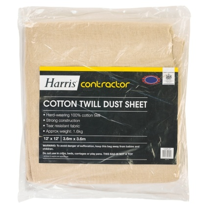 323398-Harris-Contractor-Cotton-Twill-Dust-Sheet
