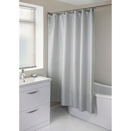323513-diamonte-shower-curtain-with-hooks-grey