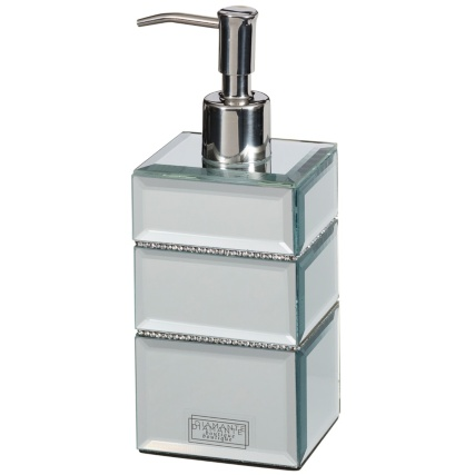 323768-Mirrored-Diamante-Soap-Dispenser-2
