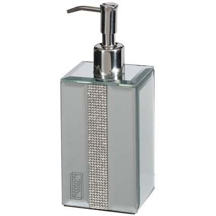 323768-Mirrored-Diamante-Soap-Dispenser