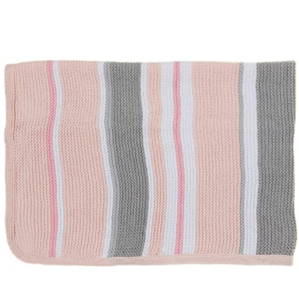 324192-Silent-Night-100-Percent-Knitted-Cotton-Striped-Blanket-10