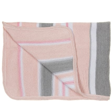 324192-Silent-Night-100-Percent-Knitted-Cotton-Striped-Blanket-11
