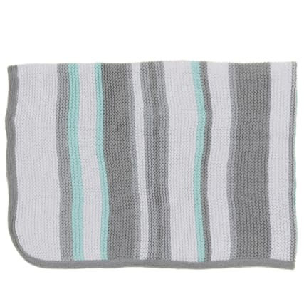 324192-Silent-Night-100-Percent-Knitted-Cotton-Striped-Blanket-8