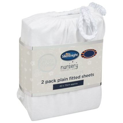 324401-Silent-NIght-Moses-Basket-100-Percent-Cotton--Fitted-Sheets-2PK--White