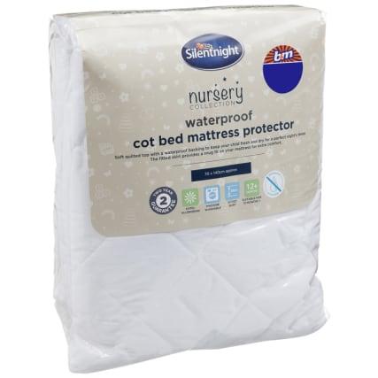 324407-Silent-Night-Waterproof-Cot-Bed-Mattress-Protector