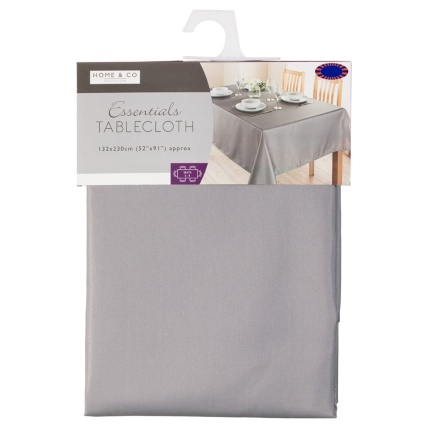 324580-home-and-co-essentials-tablecloth-132x230cm-grey