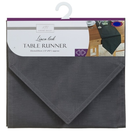 324587-karina-bailey-linen-look-table-runner-33x235cm-charcoal-linen