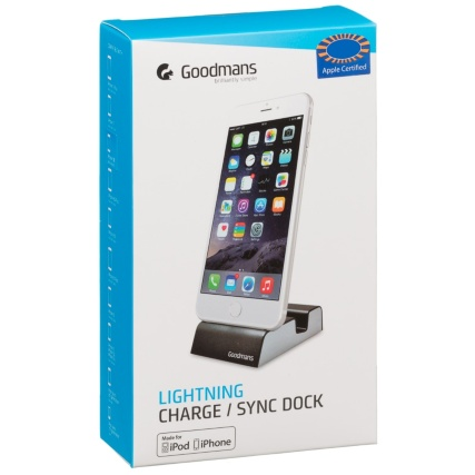 324951-Goodmans-Lightning-Charge-and-Sync-Dock-Black