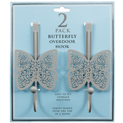 324993-Butterfly-Overdoor-Hook-2PK-Grey