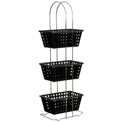 329923-3-Tier-Rectangle-Storage-Basket-black