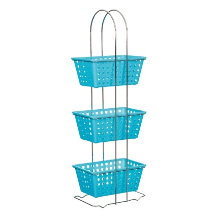 325000-3-Tier-Rectangle-Storage-Basket-turquoise-2