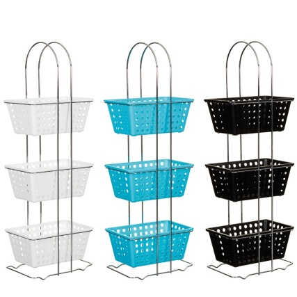 325000-3-Tier-Rectangle-Storage-Basket-turquoise-Main