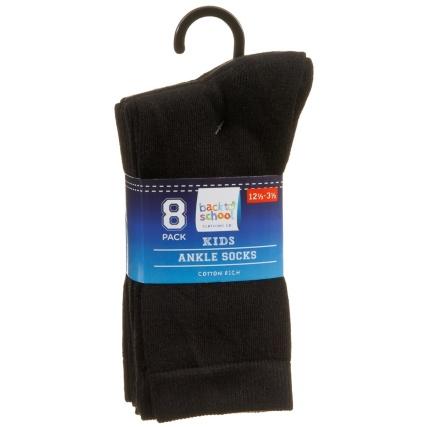 325063-Kids-Ankle-Socks-8PK-Black-2