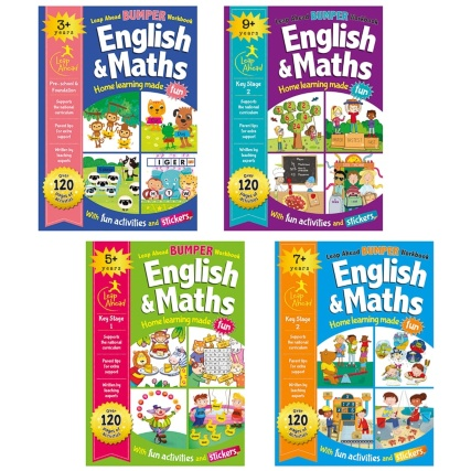 325197-leap-ahead-bumper-work-books-english-maths-7