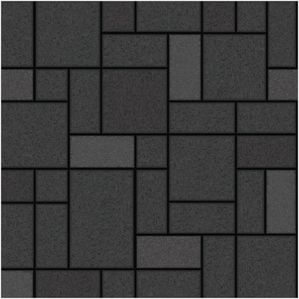 Holden d cor winchester tile wallpaper black decorating for Black 3d tiles wallpaper