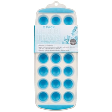 326432-2pk-ice-cube-trays-with-pop-out-silicone-base